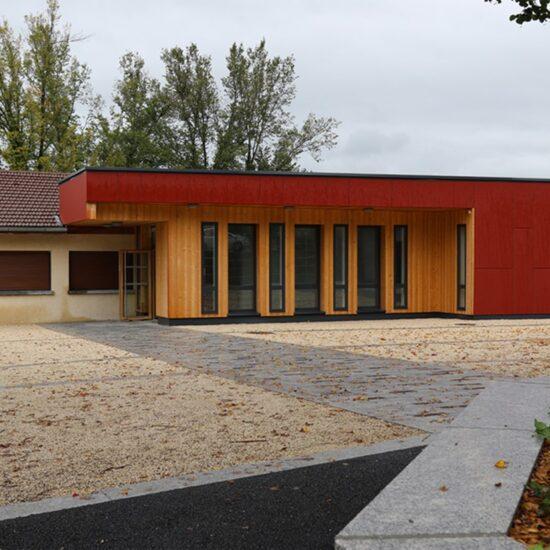 M'Architecte - Village et école Saint Sixt
